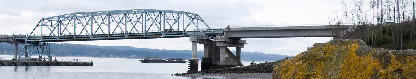 Hood Canal Bridge in Washington state