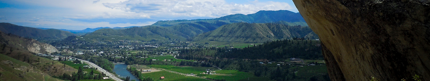 Overview of the Upper Columbia River valley