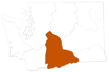 Middle Columbia salmon recovery region of Washington state