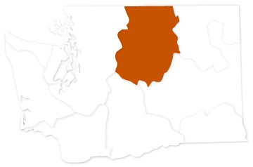 Upper Columbia River salmon recovery region of Washington state