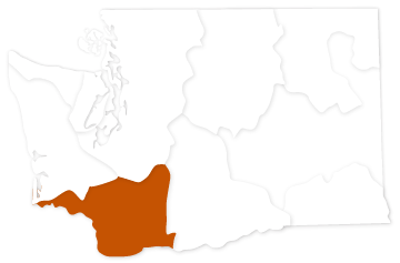 Lower Columbia River salmon recovery region in Washington state