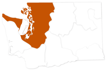 Puget Sound salmon recovery region of Washington state